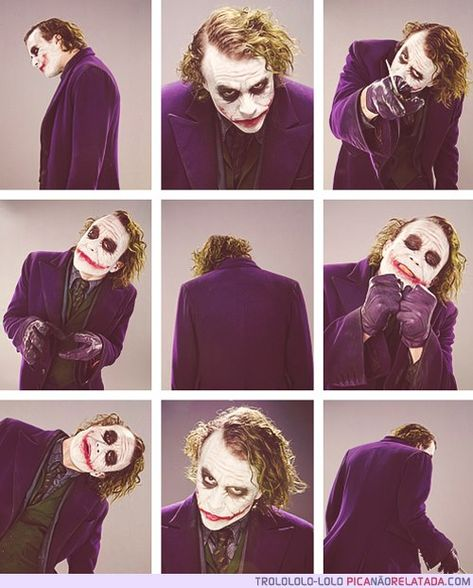 Heath Ledger as The Joker. One of a kind, irreplaceable, we won't see an actor of his caliber for a very long time.