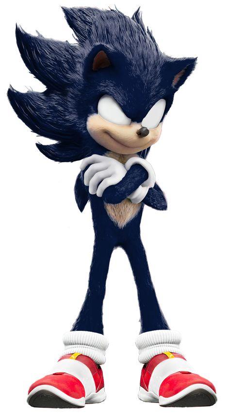 Dark Sonic - Sonic The Movie +SpeedEdit