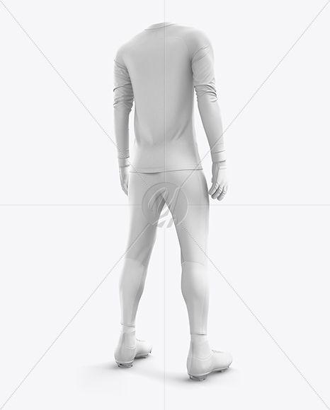 Download Men S Full Soccer Goalkeeper Kit With Pants Mockup Hero Back Shot In Apparel Mockups On Yellow Images Object Mockups Clothing Mockup Goalkeeper Kits Goalkeeper