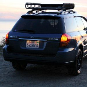 Rally Innovations 2005 2009 Subaru Legacy Outback Light Bar And Skid Plate With Baja Designs Legendary Rally R Subaru Legacy Legacy Outback 2009 Subaru Legacy