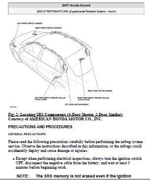 2003 07 Honda Accord Incl V6 Full Service Honda Accord Honda Repair Manuals