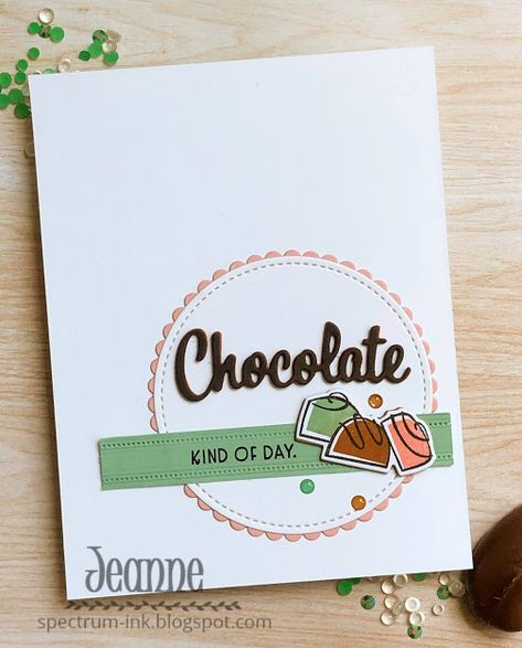 Spectrum Ink: New Stamp Set - Nothing's Better Than Grandpa Birthday Gifts, Mom Birthday Crafts, 50th Birthday Quotes, 90th Birthday, Chocolate Card, Chocolate Cookies, Card Tags, I Card, Candy Bar Posters