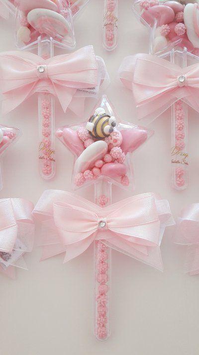 Bacchetta Magica Stellina Battesimo Compleanno Magia Bomboniere Originali Confetti Deco Bomboniere Bomboniere Per Bambina Principessa Festa Nascituro