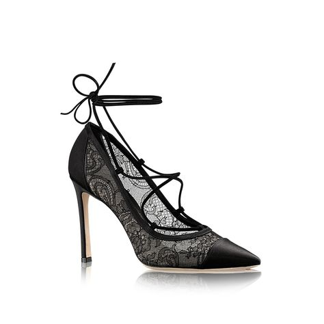 664152db171a Neglige Lace Up Pump in WOMEN s SHOES collections by Louis Vuitton ...