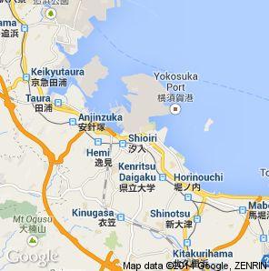 munfe2010 Map of Yokosuka Base SciFi Pinterest Japan trip