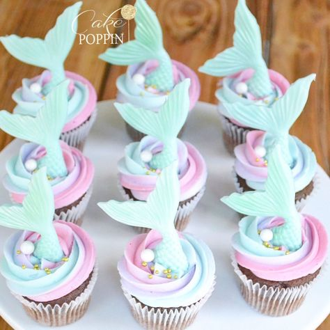 Mermaid cupcakes Thank you @runningunderthesun for your order and Happy (late) Birthday to your twins! This one was my fave so far! #mermaidcupcakes . . . #mermaidlife #cakepoppn #mermaidcakepops #cakepops #mermaids #mermaiddesserts #fresnobaker #fresnobakery #clovis #fresno #clovisbakery #mermaid #latergram #mermaidparty