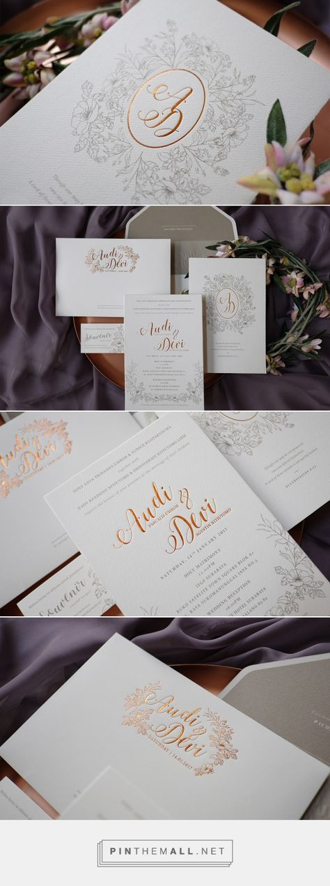 Paperi \ Co Invitations \ Stationery » Nike \ Dio Wedding - wedding invitation design surabaya