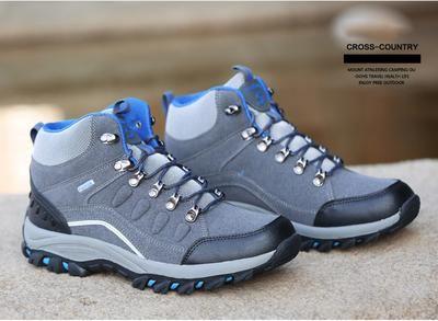 Convergere dolore forma  Couple Hiking Shoes Man Women Waterproof Hiking Boots Warm High Top Mo -  sheheonline | Zapatos, Calzas, Horma