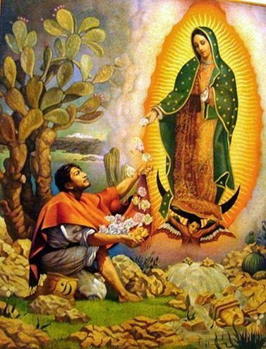 Resultado de imagem para Nossa Senhora de Guadalupe