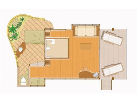 Beach Bungalow Floor Plans