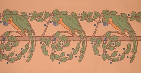 Parrot border - $57.95 - 5 yards by 13.5 inches.