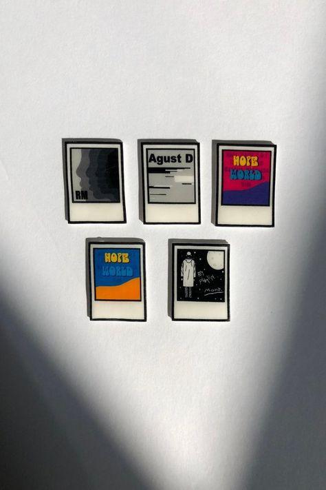 BTS Mixtape // Rapline Pin // RM Mixtape // Agust D // Hope World // RM Mono Pin