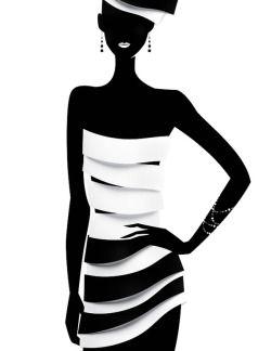 Black Women Art! — FASHION ILLUSTRATION BY ELI MAIER & ALEXANDRA...