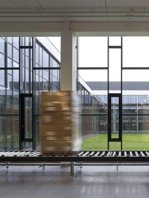 Bestseller Logistics Centre North in Haderslev, Denmark by C.F. Møller Architects