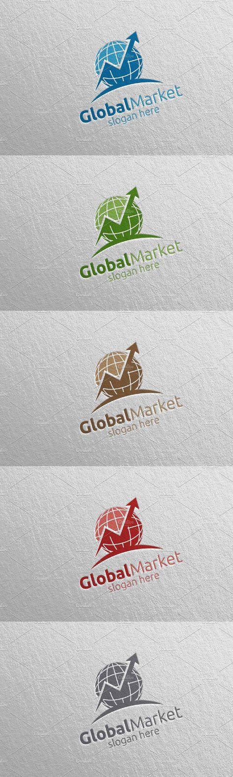 Global Marketing Financial Logo 10
