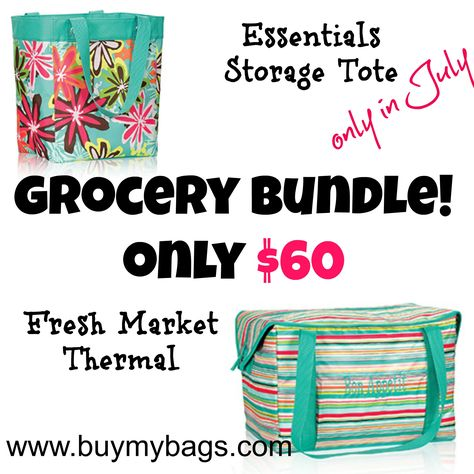 July grocery thermal bundle