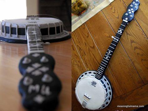 Banjo Cake - Meaningfulmama.com
