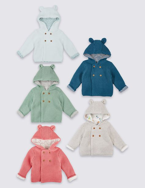 SOPO Baby Boys PU Leather Winter Jackets Fake Fur Collar Outwear 2 Color 3-5Y