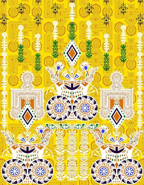 BBE0096Z8 3D imprim/é Fleur Sac cosm/étique Mandala Style Ethnique /étui de Transport pour la Main de la Femme Tenant Le Sac cosm/étique Porte-Monnaie