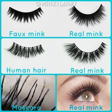 b56e709eecd Siberian Mink Lashes vs Faux Mink vs Human Hair