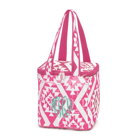 This Patterned Cooler Bag is perfect for all of your snacks and drinks while you are out at the ball field, pool or the beach even on the boat. We also have matching accessory bag, beach bag, and coozie. You can place your order online at www.underthecarolinamoon.com #UTCM #UnderTheCarolinaMoon #Beach #CoolerBag