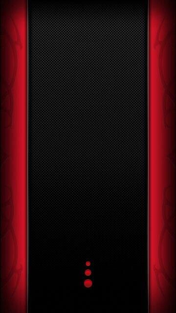 Favouritesmartphone Edge Wallpaper Phone Wallpaper Design Backgrounds Phone Wallpapers Black with red trim wallpaper black
