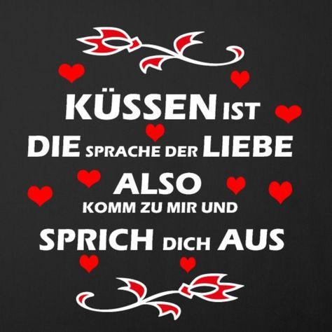 Kuessen Valentienstag Liebe  #Küssen #Sprüche #Spruch #Liebe #Herz #Gefühle