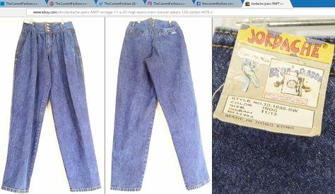 newvintage #JORDACHE jeans new vintage...