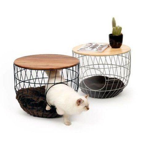 35+ Adorable Cat House Pets Design Ideas