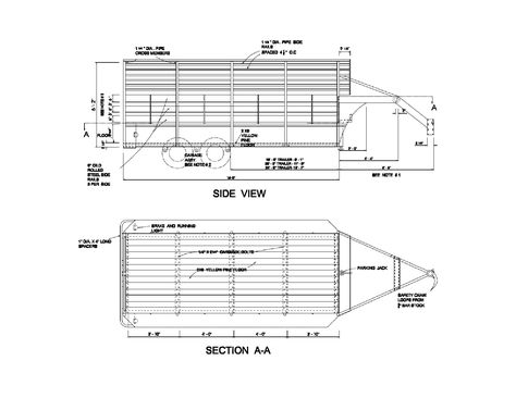 Breakaway Switch Diagram For Installation On A Dump Trailer With Trailer Mounted 12 Volt Battery Etrailer Com Dump Trailers Trailer Wiring Diagram Trailer