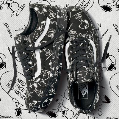 Vans x Peanuts Old Skool | Black | Sneakers | VA38G1QOG