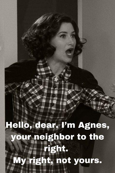 WandaVision Agnes Quotes