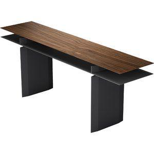 Pleasing Modern Contemporary 42 Inch High Console Table Allmodern Machost Co Dining Chair Design Ideas Machostcouk