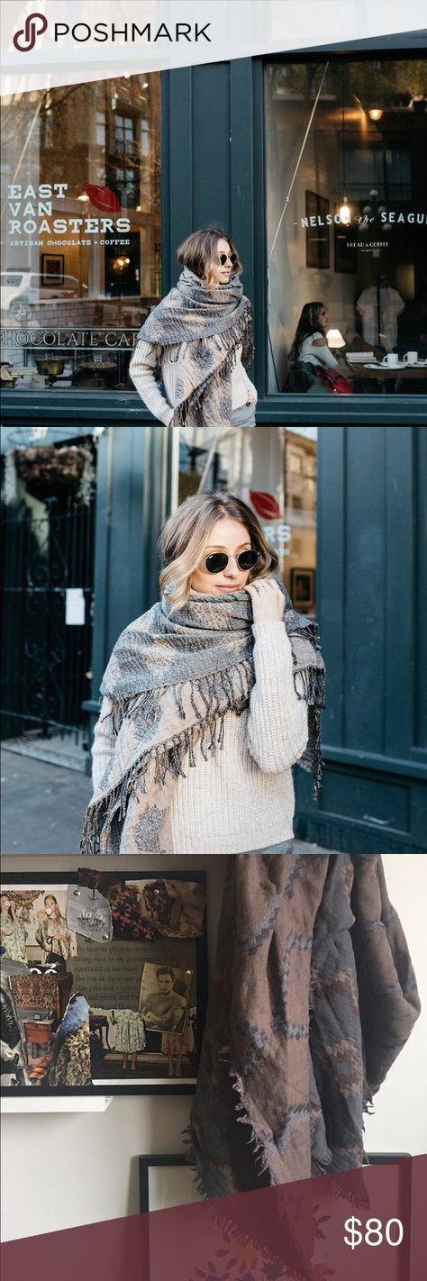 27c4e72f8d640 Aritzia blanket scarf ***photo is not mine, property of The August Diaries