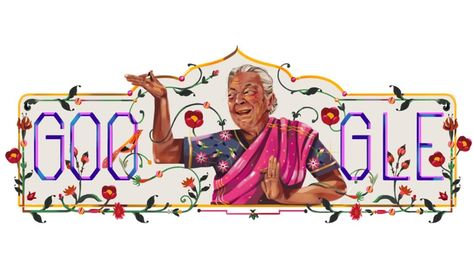 Google Remembers Iconic Indian Actress and dancer Zohra with a Special Doodle #GoogleDoodle #Google #ZohraSehgal #ZohraSegal #zohrabitan #zohrabitanGate #Zohra