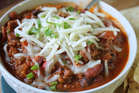 Cold-Weather Venison Chili