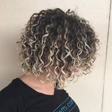 Blonde Highlights In Curly Brown Hair Google Search Curly Hair