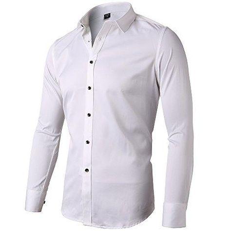 Modello K-2FACE Kayhan Originale Uomo Camicia Slim Fit Facile Stiro Cotone Maniche Lungo S M L XL XXL 2XL
