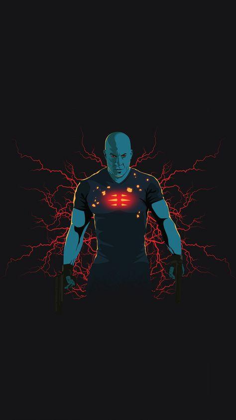 Bloodshot, Vin Diesel, movie art, 2160x3840 wallpaper
