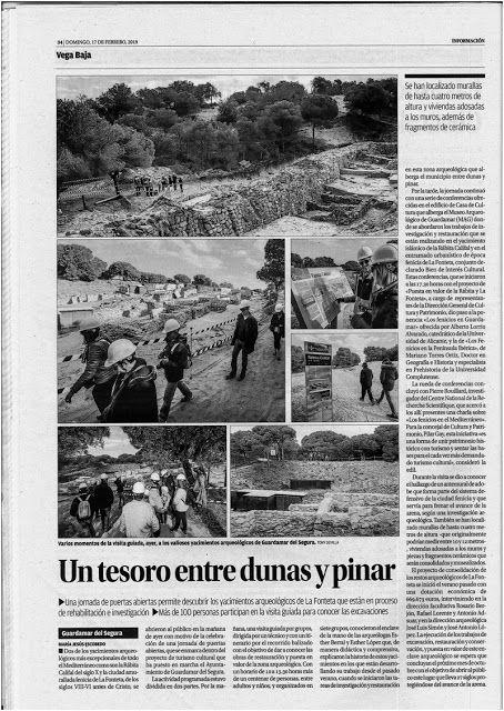 Prensa De Guardamar Del Segura Un Tesoro Entres Duna Y Pinar Hoteles De Playa Turismo Cultural Duna