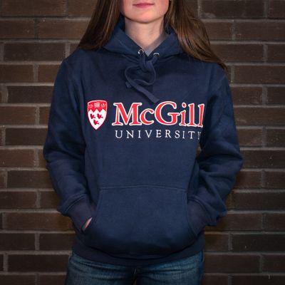 McGill University Classic Hoodie NAVY   Mcgill university