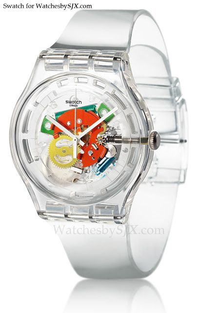 Watches By SJX: Introducing the Swatch Random Ghost, the return of the Jellyfish