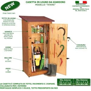Casette In Legno Leroy Merlin Con Casetta Tevere In Legno