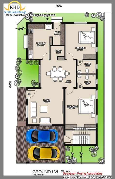 50 Ideas House Plans Small Modern Dream Homes 2bhk House Plan 30x50 House Plans House Layout Plans