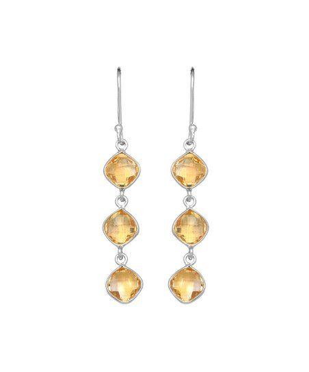Grey Agate Gemstone Drop Earrings 925 Sterling Silver Fixings Free P+P
