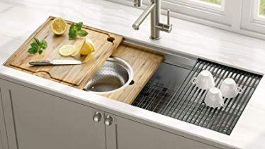 kraus sink workstation kitchen sink