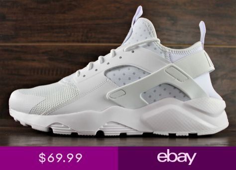97ea99dae30c8 NIKE AIR HUARACHE RUN ULTRA RUNNING SHOES TRIPLE WHITE 819685-101 NEW MENS
