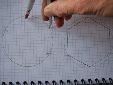 Tutorial étape par étape de la technique patchwork du jardin de grand-mère (méthode à l'anglaise, avec gabarits de papier).