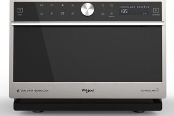 Micro Ondes Combine Whirlpool Mwp3391sx Supreme Chef W Collection