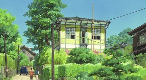 Studio Ghibli The Art Of From Up On Poppy Hill Dir Goro